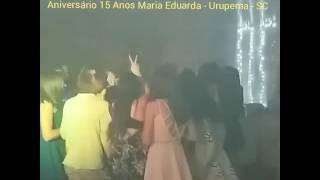Dj Átila Cabral agitando a galera - Urupema - SC