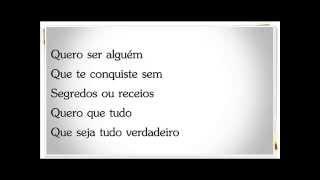 Diogo Piçarra -  Verdadeiro (letra)