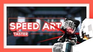 Minecraft Banner Speedart - Taster (Bug de rec) [3]