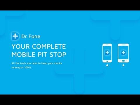 Dr.Fone sau cum să salvezi datele șterse pe un smartphone Android
