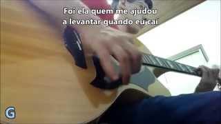 É com ela que eu estou - Cristiano Araújo -- Violão Instrumental (com letra e cifra)