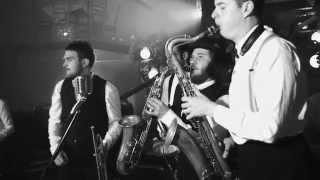 Flash Mob Jazz Bigger band Feat Sara Oschlag Live HD