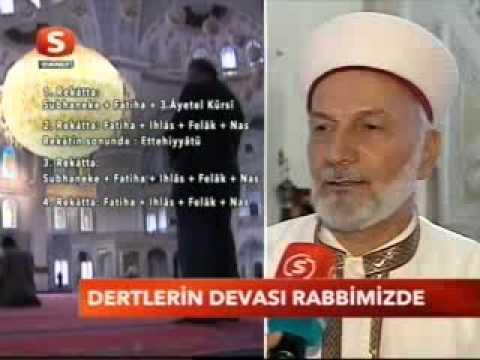 Fethullah Gülen hacet namazı ve dua