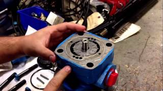 Changing Rotation On A Vickers Vane Pump