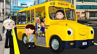 Wheels on The Bus Original | +More Nursery Rhymes & Kids Songs | Little Baby Bum