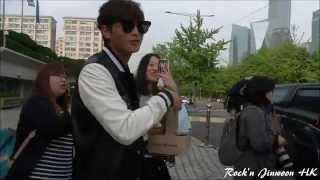 """[Fancam] 150515 Jinwoon - KBS 'Lady Jane's 2 O'clock"""" (Off Work)"""