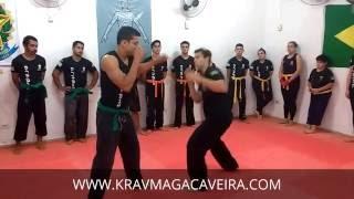 KRAV MAGA CAVEIRA: como defender soco(jab) com contragolpe (sem regras)