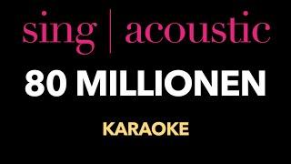 Max Giesinger - 80 Millionen (Karaoke/ Instrumental)