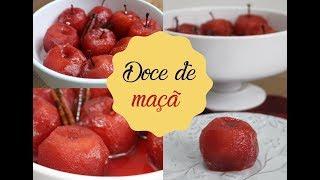 DOCE DE MAÇÃ DE PANELA DE PRESSÃO | Bem Vindos à Cozinha | Receita 105