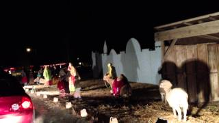 Live Nativity, why it's cool to live in a small town.