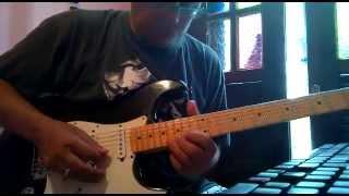 Aguenta Coraçao solo guitarra