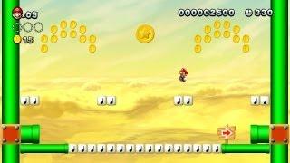 New Super Mario Bros. U - Deserto Caramelo-6 - Segunda Moeda-Estrela (Wii U)
