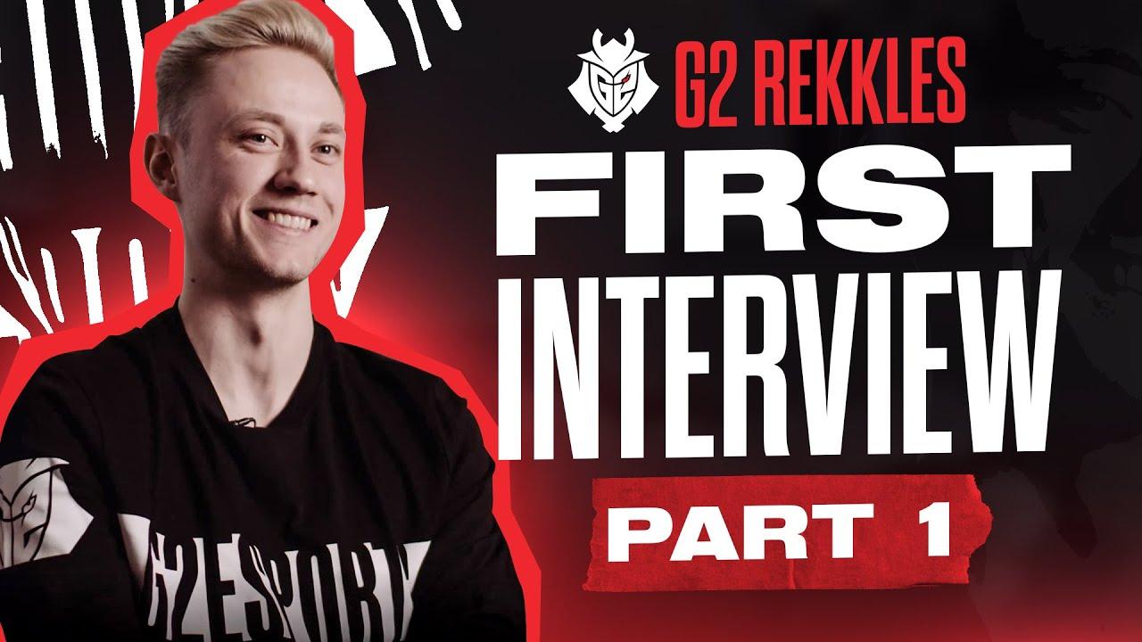 Rekkles - G2 Rekkles FIRST Interview: Part 1 - Leaving Fnatic