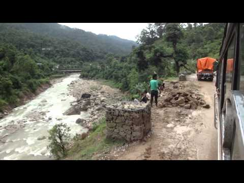 Bus Tansen to Lumbini via Bhairahawa, Nepal – part 8