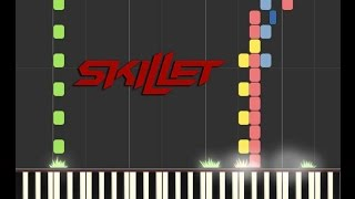 Skillet - The Resistance Piano Tutorial [Syntheisa]