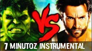 Instrumental - Hulk VS.  Wolverine   Duelo de Titãs (7 Minutoz)