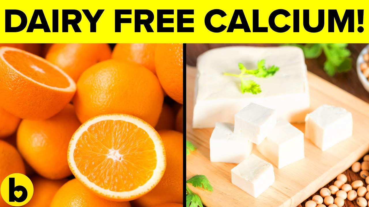 19 Dairy free Sources of Calcium you need to know about