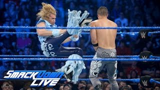 Breezango vs. The Colons: SmackDown LIVE, May 16, 2017