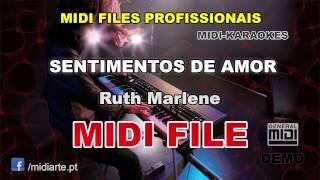 ♬ Midi file  - SENTIMENTOS DE AMOR - Ruth Marlene