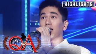 Nikko Natividad emerges as the first-ever Mr. Q & A. | It's Showtime Mr Q and A