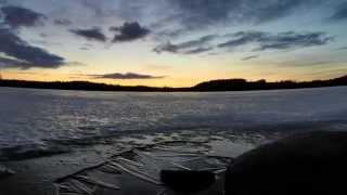 Sounds of ice freezing