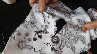 أسرع طريقة لترقيع الملابس المقطعة بدون خياطة لاتفوتي الفيديو