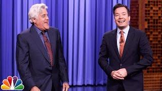Jay Leno Tags In to Tell Tonight Show Monologue Jokes