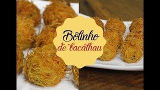 BOLINHO DE BACALHAU | Bem Vindos à Cozinha | Receita 93