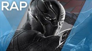 🔴 Rap do Pantera Negra (Capitão América - Guerra Civil) l Águia l Tributo 46