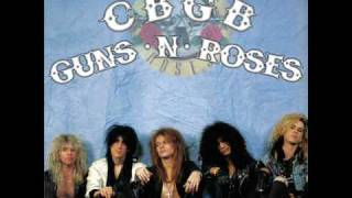 3- Guns N' Roses - Used To Love Her (acoustic live, CBGB)