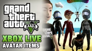 GTA 5 - Avatar Items on Xbox LIVE