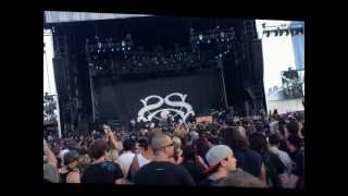 Through the Glass (LIVE) Stone Sour - Soundwave Brisbane 23/02/2013