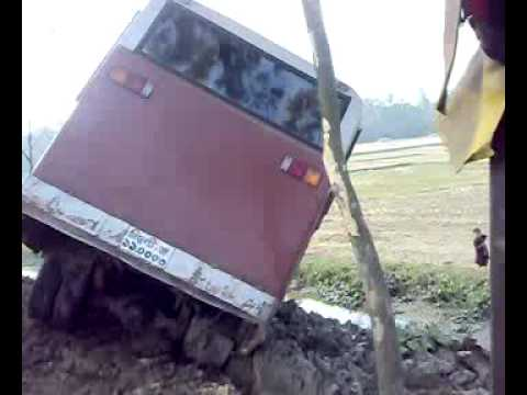 Coach accident in Bangladesh