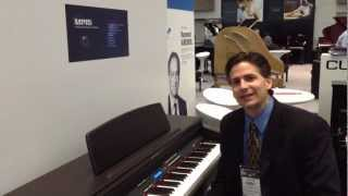 Kraft Music - Kurzweil MP-15 Digital Piano Demo at NAMM 2013