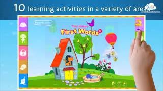 First Words 2 Tiny Hands – Vocabulary Development game for Preschool and Kindergarten.