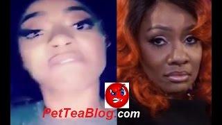 Tommie Lee #LHHATL DISSES Karen King aka K.K her 2nd MOTHER 😲😡🤛 #Tommieshit #BEEF #TEA 🤛☕