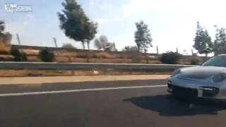 old lada vs porsche 911 turbo ;