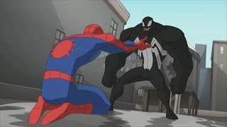 Spectacular Spider-Man (2008) Spider-Man vs Venom parade fight (3/3)