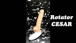 video Rotační realistický vibrátor Cesar