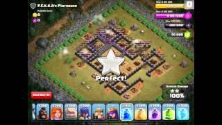 Clash of Clans - 300 Lightning Spells (MAKE IT RAIN!)