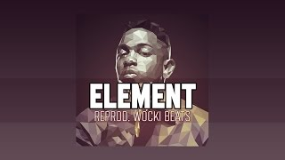 Kendrick Lamar - Element (Instrumental) (Reprod. Wocki Beats) | DAMN.