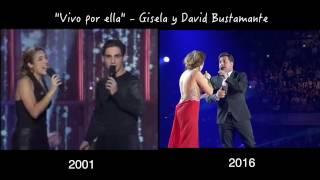 """""""Vivo por ella"""" - Gisela y David Bustamante (2001 - 2016)"""
