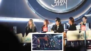 Golden Disk Awards MAMAMOO, CNBLUE, ZICO reaction to BLACKPINK Whistle + Playing With Fire   170113