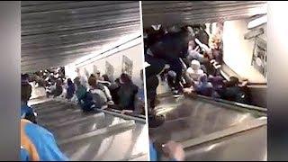 20 Injured in escalator mishap at Rome metro station
