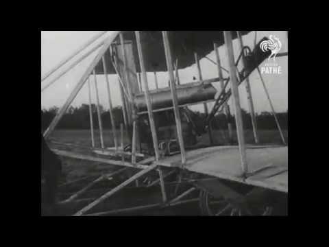 1903年12月17日 萊特兄弟首次試飛飛機 - YouTube