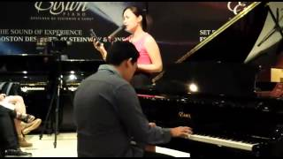 """""""What Are Words"""" live at Steinway and Sons Gallery, Singapore"""