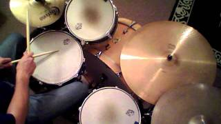 "Jon Biggs Pork Pie Drums "" Loose Booty "" - drum cover"