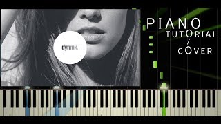 Sofi de la Torre - Flex Your Way Out (ft. Blackbear) - Piano Tutorial / Cover - Synthesia