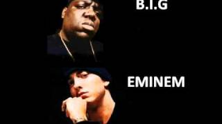 "eminem feat notorious B.I.G - ""Runnin' (Dying To Live) / (The way i am) remix"