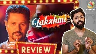 Lakshmi Movie Review | Prabhu Deva, Aishwarya Rajesh | A.L.Vijay